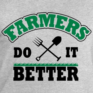 Farmers do it better Skjorter med lange armer - Sweatshirts for menn fra Stanley & Stella