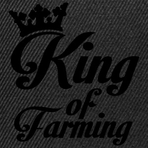 King of Farming Hoodies & Sweatshirts - Snapback Cap