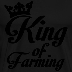 King of Farming Polo Shirts - Men's Premium T-Shirt