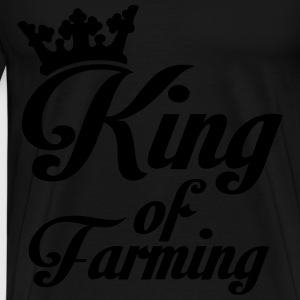 King of Farming Hoodies & Sweatshirts - Men's Premium T-Shirt