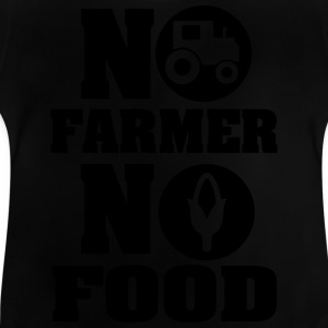 No farmer no food Camisetas - Camiseta bebé