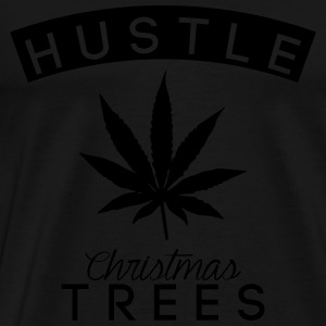 hustle christmas trees Sweat-shirts - T-shirt Premium Homme