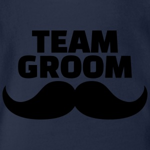 Team Groom T-Shirts - Baby Bio-Kurzarm-Body