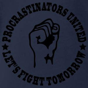 Procrastinators united Tee shirts - Body bébé bio manches courtes