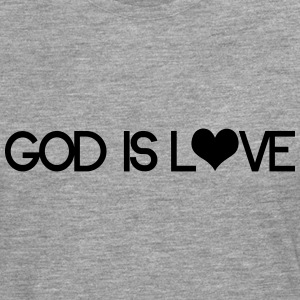 God is love Sudaderas - Camiseta de manga larga premium hombre