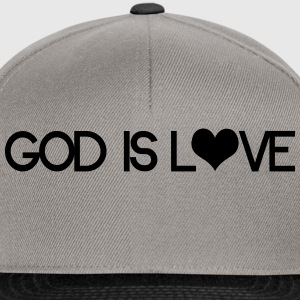 God is love Sweat-shirts - Casquette snapback