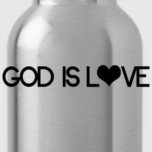 God is love Sudaderas - Cantimplora