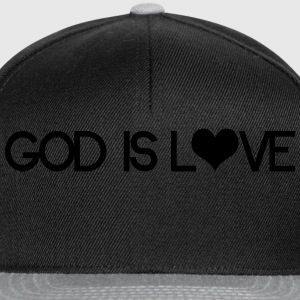 God is love Tee shirts - Casquette snapback