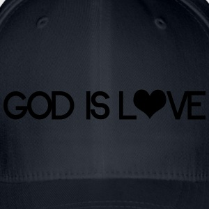 God is love Sweaters - Flexfit baseballcap