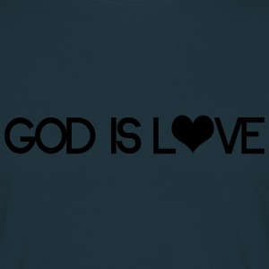 God is love Sweaters - Mannen T-shirt