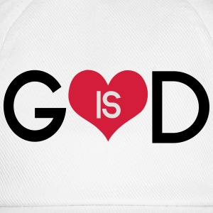 God is love T-shirts - Baseballcap