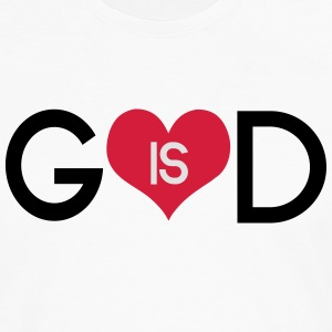 God is love T-shirts - Långärmad premium-T-shirt herr