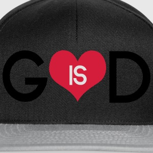 God is love Shirts - Snapback cap