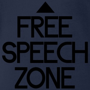 free speech zone T-Shirts - Baby Bio-Kurzarm-Body