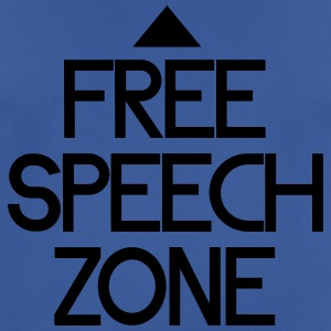 free speech zone Hoodies & Sweatshirts - Men's Breathable T-Shirt