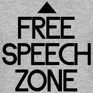 free speech zone Sweaters - slim fit T-shirt