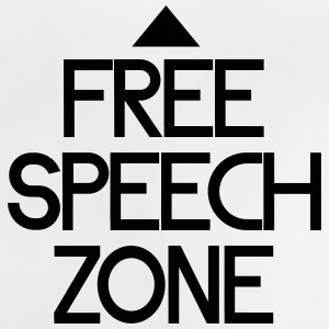 free speech zone Tee shirts - T-shirt Bébé