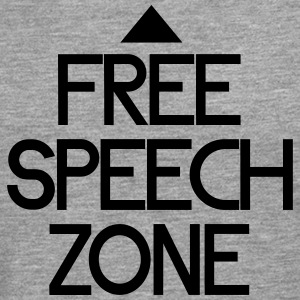 free speech zone Shirts - Men's Premium Longsleeve Shirt