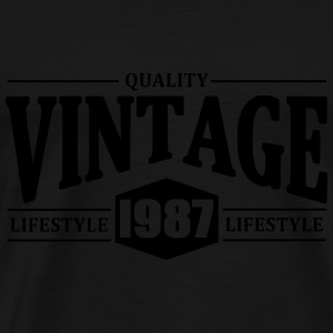 Vintage 1987 Hoodies & Sweatshirts - Men's Premium T-Shirt