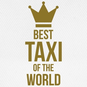 Best Taxi of the World T-skjorter - Baseballcap