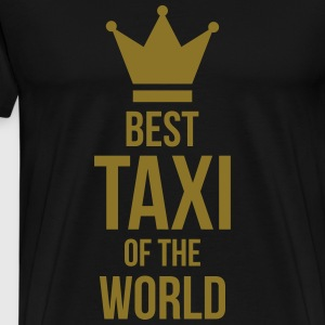 Best Taxi of the World Fartuchy - Koszulka męska Premium