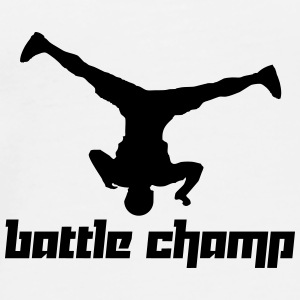 Battle Champ (Vector) - Men's Premium T-Shirt