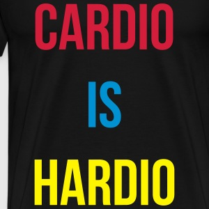 Cardio is Hardio Tops - Männer Premium T-Shirt