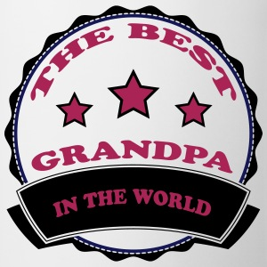The best grandpa in the world 2222 T-Shirts - Tasse