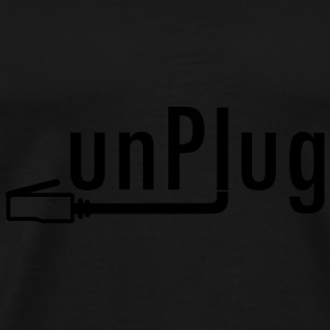 unplug-Bag - Männer Premium T-Shirt