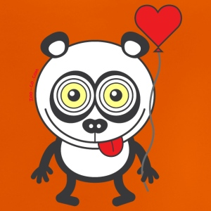 Panda bear feeling madly in love Shirts - Baby T-Shirt