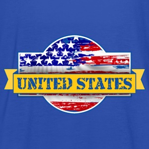 United States of  America Gensere - Singlet for kvinner fra Bella