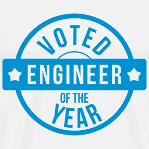 Voted Engineer of the year  Aprons - Men's Premium T-Shirt