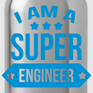 I am a Super Engineer  Koszulki - Bidon