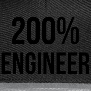 200% Engineer  Camisetas - Gorra Snapback