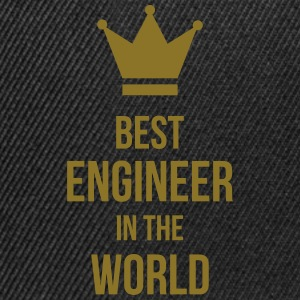 Best Engineer in the World Koszulki - Czapka typu snapback