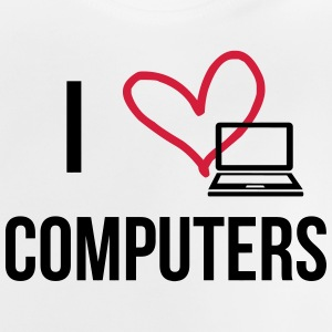 I Love Computers Shirts - Baby T-shirt