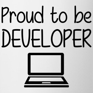 Proud to be Developer Koszulki - Kubek