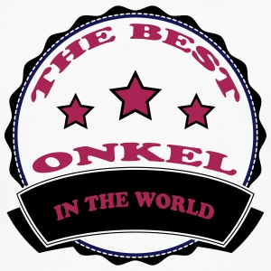 The best onkel in the world 111 T-shirts - Herre premium T-shirt med lange ærmer