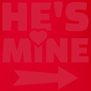 He's mine T-Shirts - Baby Bio-Kurzarm-Body