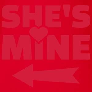 She's mine T-Shirts - Baby Bio-Kurzarm-Body