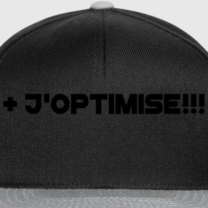 j'optimise Tee shirts - Casquette snapback