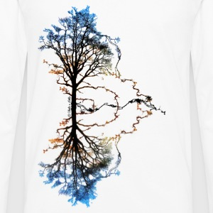 Two Trees Homme - T-shirt manches longues Premium Homme