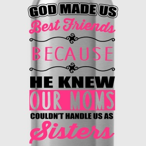 God made us best friends - BFF Tee shirts - Gourde