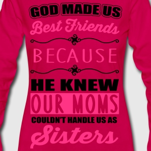 God made us best friends - BFF Tee shirts - T-shirt manches longues Premium Femme