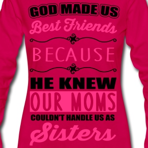 God made us best friends - BFF T-Shirts - Frauen Premium Langarmshirt