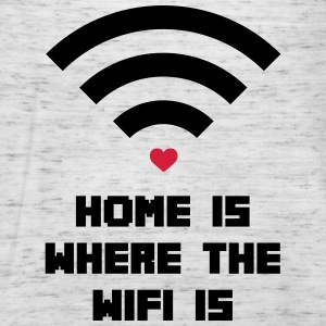 Home Where WiFi Is  Sweat-shirts - Débardeur Femme marque Bella