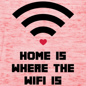 Home Where WiFi Is  Sweatshirts - Dame tanktop fra Bella
