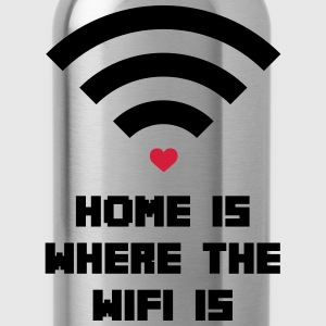 Home Where WiFi Is  Sudaderas - Cantimplora