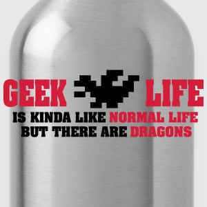 Geek life - there are dragons Topy - Bidon