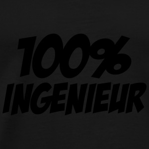 100% Ingenieur Mugs & Drinkware - Men's Premium T-Shirt